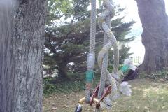 Seilaufstiegs-Vorrichtung