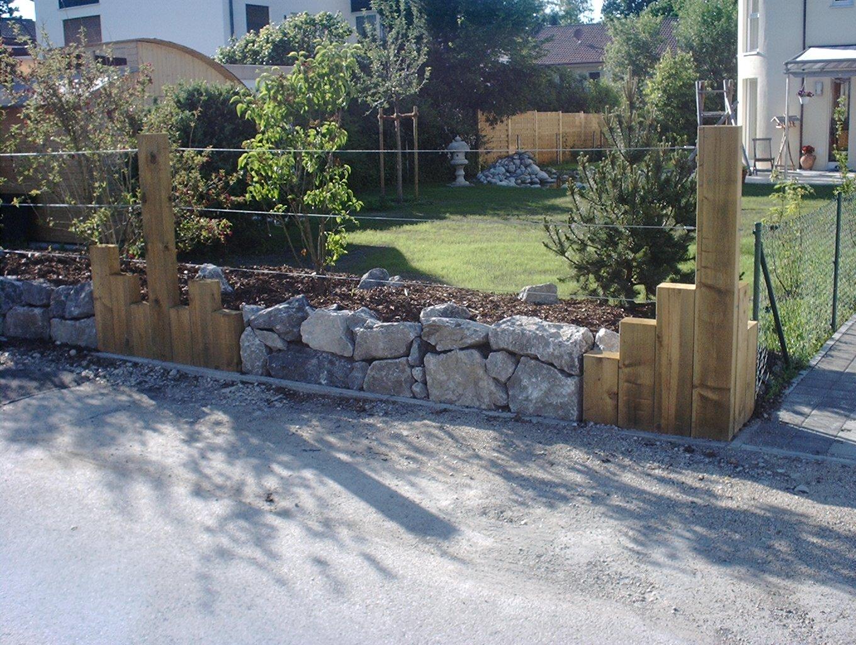 sehr individueller Zaun